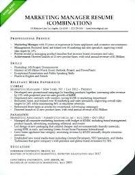 Brand Manager Resume Sample Best Of Brand Manager Resume Template Sample Brand Manager Resume Marketing