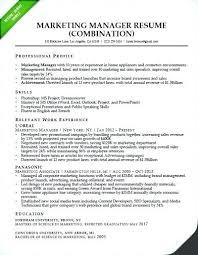 Brand Manager Resume Sample Best Of Brand Manager Resume Template Sample Brand Manager Resume Marketing