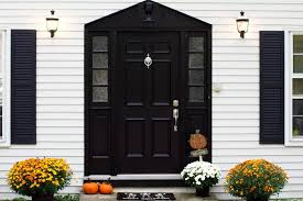 black front door22 Pictures of Homes With Black Front Doors  Page 4 of 4