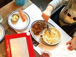 etch a sketch and macaroni and cheese a great kid combo at next door american