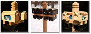 double mailbox post plans. Double Mailbox Post Plans P