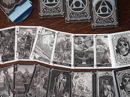 Darkness Of Light Tarot Review Arcana Tarot Playing Cards Collectible Playing Cards Jp