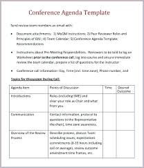 Parent Teacher Conference Agenda Template Format Of Meeting Sample ...