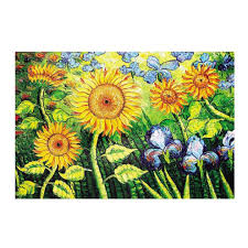 sunflower 1000 piece wooden jigsaw puzzles classic jigsaw puzzles toy on on
