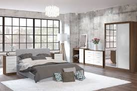 Mirrored Bedroom Suite Cheap Mirrored Bedroom Furniture Gray Fur Rug White Laminated