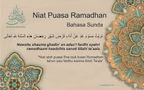 Barangsiapa belum melakukan doa niat puasa ramadhan sebelum fajar, maka tidak sah puasanya. Niat Puasa Ramadhan Arab Latin Jawa Sunda Dan Artinya
