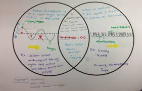 transverse and longitudinal waves venn diagram tenth grade lesson periodic motion and waves betterlesson