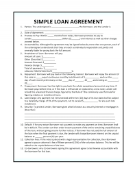 Collateral Agreement Template Bet Contract Unique Simple