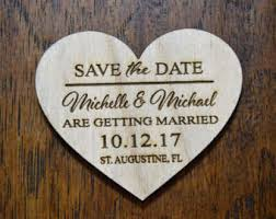 wedding save the dates save the date heart magnets envelopes save the date wood