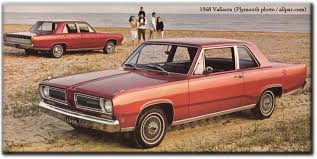 year by year history and photos of the chrysler plymouth valiant 1968 valiant
