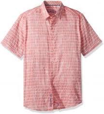 Robert Graham Shirt Size Chart Robert Graham Mens Machado Short Sleeve Shirt Magenta Xlarge