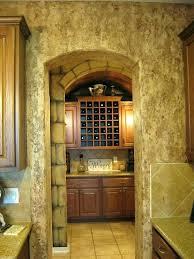kitchen wall finish faux walls stone wall wine room textured finish in kitchen walls faux finishes