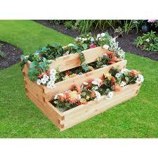 Zum bepflanzen benötigt man pflanzenerde (für balkonpflanzen), eine kleine kelle, kies und/oder tonscherben. Pflanzkasten Treppe Volterra Mit Pflanzfolie Kaufen Bei Obi