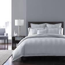 hudson park collection king size 100 cotton 600 tc stripe duvet cover white 706254659932