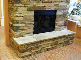 extraordinary modern stacked stone fireplace pictures ideas