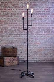gothic lantern lighting. Gothic Floor Lamp Pipe Industrial Bulb Lantern Lighting