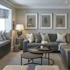 what color furniture goes with grey walls interiors lovely blue and brown living room with steel