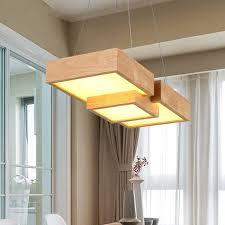 Esstischlampe Holz Rustikal