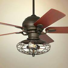 bronze ceiling fan with light ceiling fans ceiling fan with cage light wonderful ceiling fan with