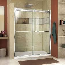 semi frameless shower doors frameless
