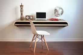 view in gallery minimal floating desk