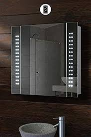 my furniture battery led illuminated bathroom mirror cabinet ip44 photonic