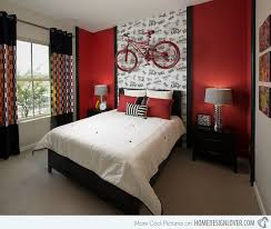 48 samples for black white and red bedroom decorating ideas (12)