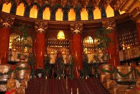 the fox theatre magnificent rear staircase in main lobby