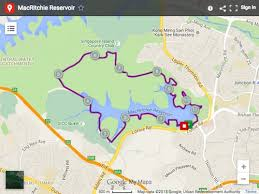 10 award winning running routes in singapore ladyexplorer Map A Running Route On Google Maps macritchie map google maps here map running route on google maps