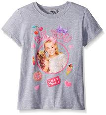 Nickelodeon Jojo Siwa Star Girls Shirt Sizes 7 16