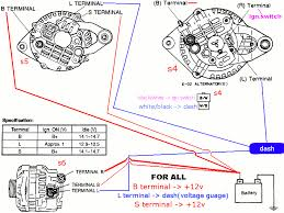 mazda alternator wiring diagram fd alternator wiring into fb rx7club com