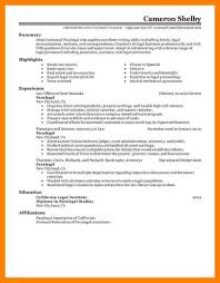 Resume Objective For Paralegal 100 paralegal resume objective examples address example 12