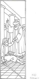 Peter And John At The Temple Coloring Page Coloring Pages