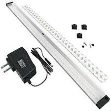 little inch under cabinet lighting. eshine led under cabinet lighting with ir sensor extra long 20 inch panel little