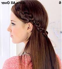 Simple Hairstyles For College Simple Hairstyle For Girls Front View Easy Hairstyles For College