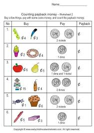 Free Printable Math Money Worksheets Worksheets for all | Download ...