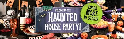 Office halloween party themes Mental Hospital Halloween Decorations Tableware Welcome To The Haunted House Party Dealz Halloween Party Decorations