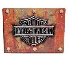 Harley Davidson Signs Decor