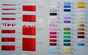 The Color Chart Of Nylon Satin Ribbon Buy Satin Ribbon Nylon Satin Ribbon Garment Ribbon Product On Alibaba Com