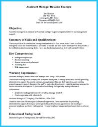 Cover Letter For Assistant Property Manager Store Assistant Manager Resume That Can Bag You