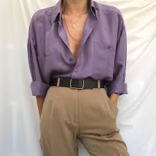 Pin by Blanca Griffith on buena convinacion in 2020 | Khaki pants outfit,  Vintage inspired fashion, Fashion