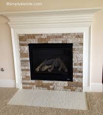 best 25 airstone fireplace ideas on airstone airstone wall and fireplace diy makeover