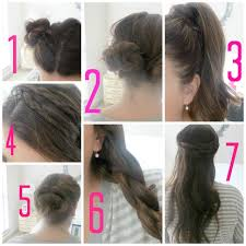 Simple Hairstyles For College Simple Hair Styles For Girls Step By Step 1000 Images About