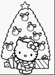 Small Picture Hello Kitty Christmas Coloring Pages Part 2