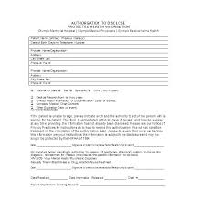 Free Medical Release Form Template