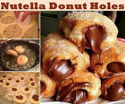 Nutella Donut Holes Food Tutorial Pictures Photos And Images For