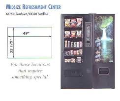 Soda Vending Machine Size Beauteous Combo Vending Machines Snack And Soda Vending Machines Full Size