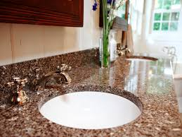 Best Bathroom Countertop Materials Remodel Ideas | Home ...