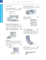 Emax Cad Firing Chart Technical Products Catalog 2011 2012 By Ivoclar Vivadent Issuu