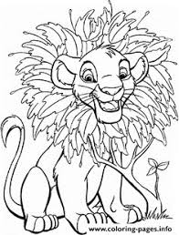 Small Picture What about coloring this beautiful picture of baby Simba in his